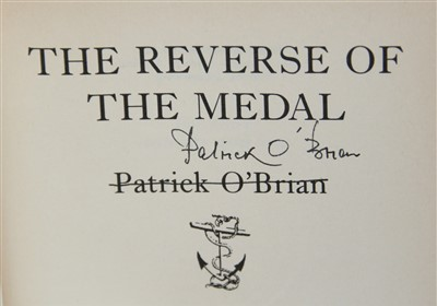 Lot 1020-O'BRIAN, Patrick. The Reverse of the Medal....