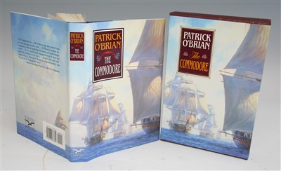 Lot 1023-O'BRIAN, Patrick. The Commodore. Norton, New York....