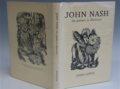 Lot 1031-LEWIS, John. John Nash the Painter as...