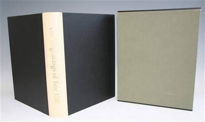 Lot 1032-GILL, Eric. The Engravings of Eric Gill....