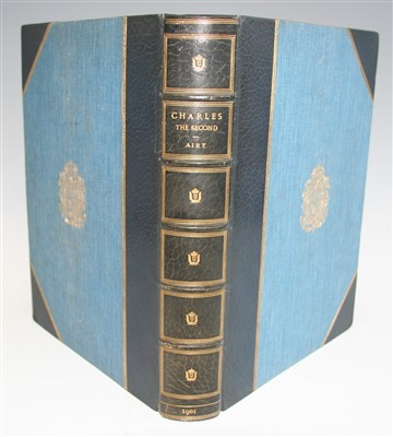 Lot 1036-AIRY, Osmund. Charles II. Goupil & Co. London....