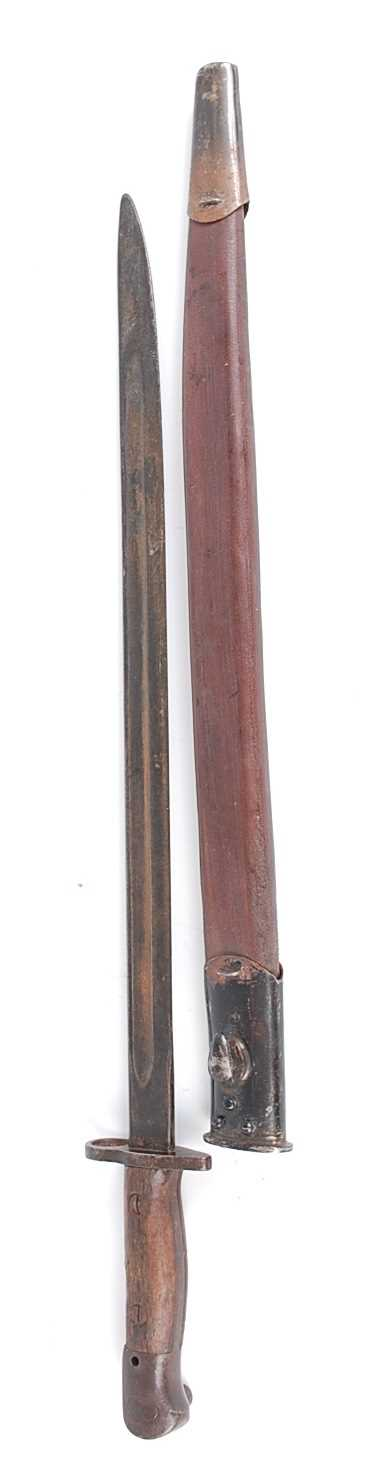 Lot 14-A British 1907 pattern bayonet