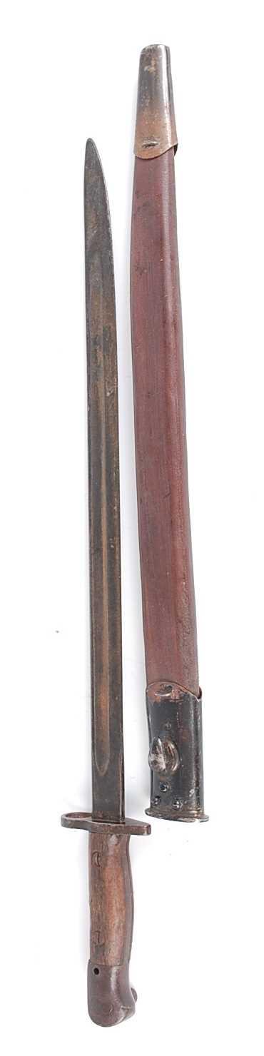 Lot 14 - A British 1907 pattern bayonet