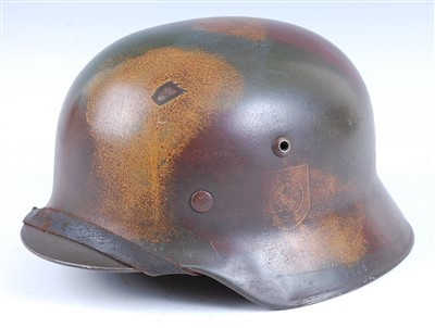 Lot 18-A German M1935 pattern steel helmet