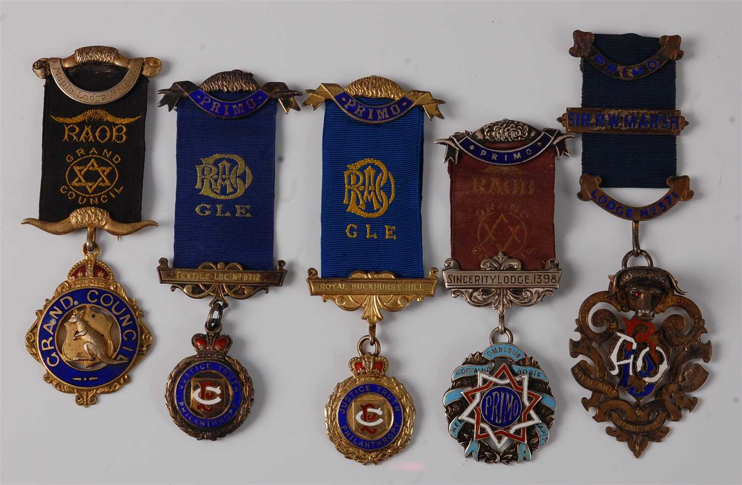 Lot 22 - A Royal Antediluvian Order of Buffaloes