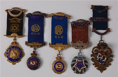 Lot 22-A Royal Antediluvian Order of Buffaloes