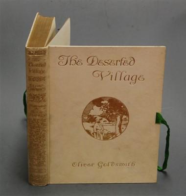 Lot 1042-GOLDSMITH, Oliver. The Deserted Village....