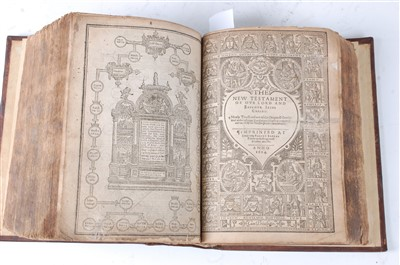 Lot 1046-THE HOLY BIBLE CONTAINING THE OLD TESTAMENT...