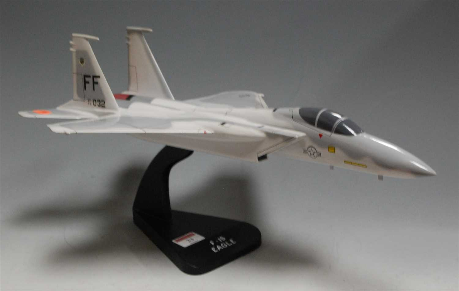 Lot 23-A Billijo Aviation Arts Centre model of an F15...