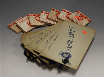 Lot 31-A collection of assorted boxed cigarette cards,...