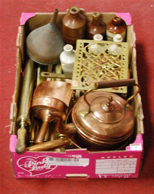 Lot 48-A box of miscellaneous items, to include...