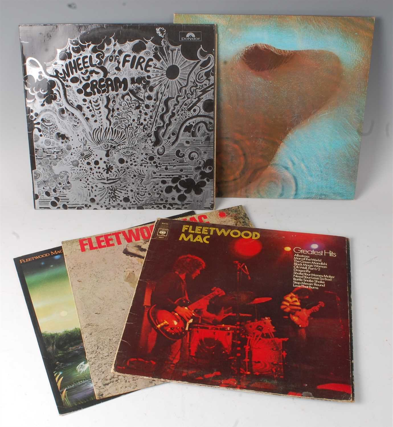 Lot 663 - A collection of 5 LP's to include