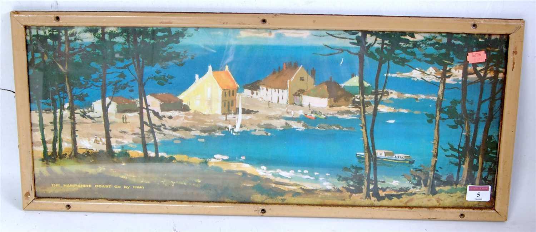 Lot 5-An original framed Langhammer carriage print,...