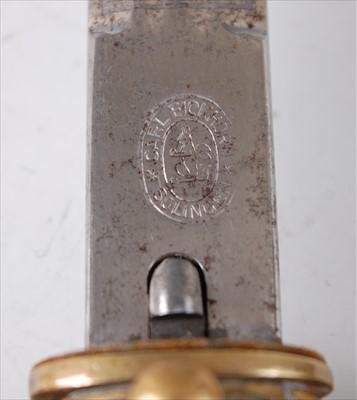 Lot 4 - A Third Reich kriegsmarine Officer's dagger