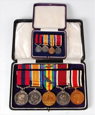 Lot 304 - A George V Distinguished Conduct Medal group of five