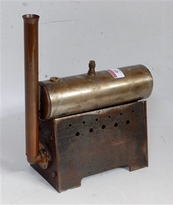 Lot 45-A small stationary steam boiler to power an...