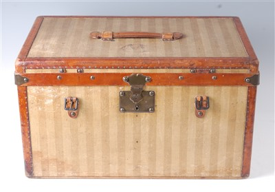 Lot 419 - Louis Vuitton - a small travelling trunk,...