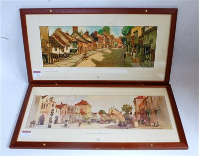 Lot 1-Four framed and glazed Greg Norden collection...