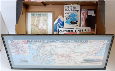 Lot 16-A collection of reproduction and original railway ...