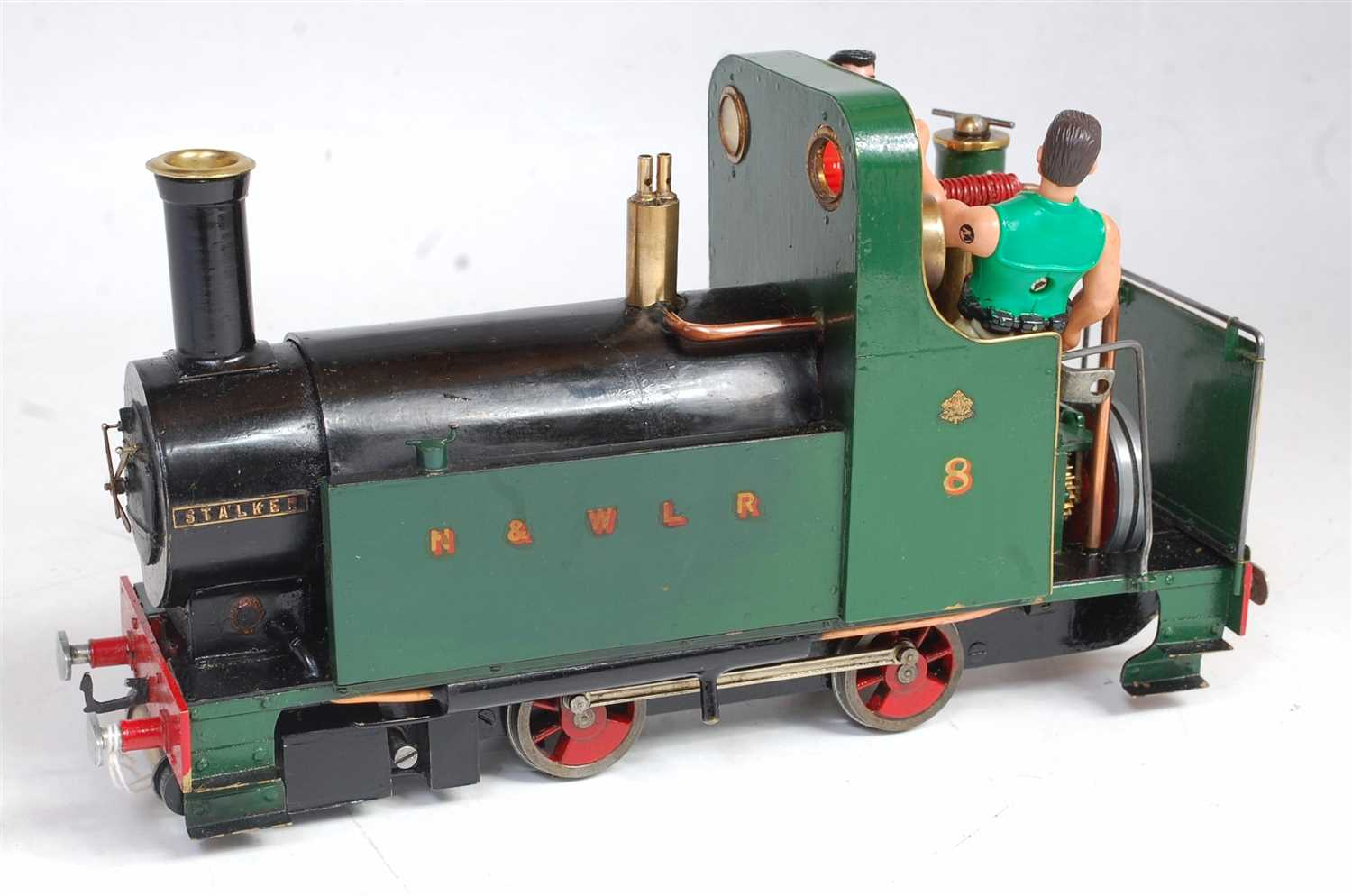 Lot 41-'Stalker' 16mm live steam 0-4-0 loco built to a...