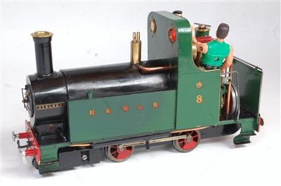 Lot 41-'Stalker' 16mm live steam 0-4-0 loco built to...