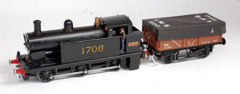 """Lot 42-Leech (Rochester) Ltd 'Mollyette"""" 0-6-0 tank loco ..."""