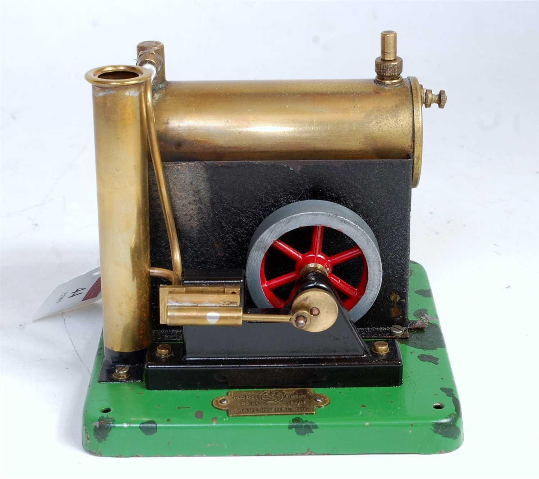 Lot 44-ESL single cylinder stationary engine to drawing...