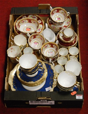 Lot 52-A Royal Albert part tea service in the Lady...
