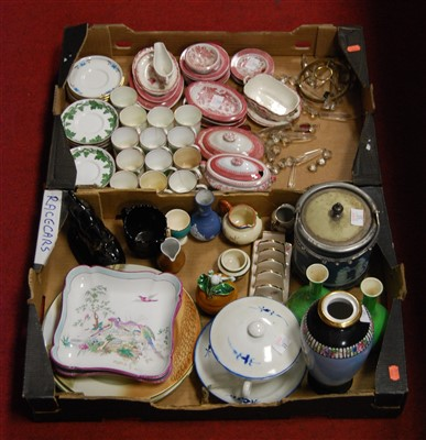 Lot 57-Two boxes of miscellaneous items to include...