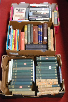 Lot 71-Three boxes of miscellaneous books, to include...
