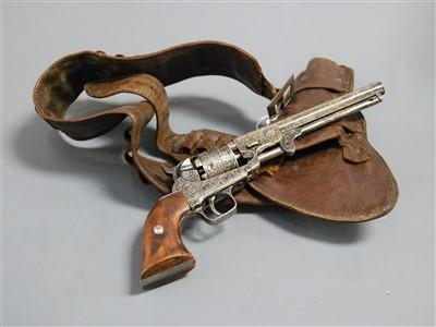 Lot 36-A reproduction model of a Colt revolver, having...