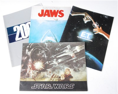 Lot 622-A collection of four Official Souvenir programs to include