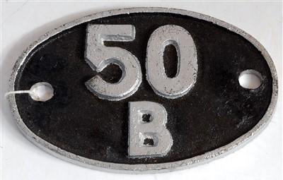 Lot 68-A shed plate 50B Leeds (Neville Hill)