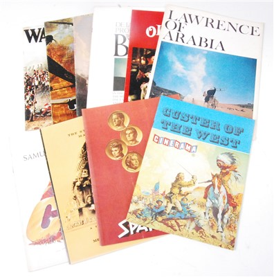 Lot 623-A collection of ten Official Souvenir programs to include