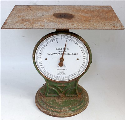 Lot 52-A set of accurate railway parcel scales