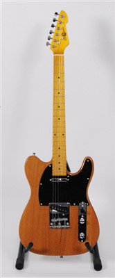 Lot 608-A Gear4music telecaster electric guitar
