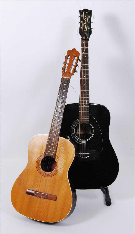 Lot 615-An Eko acoustic guitar