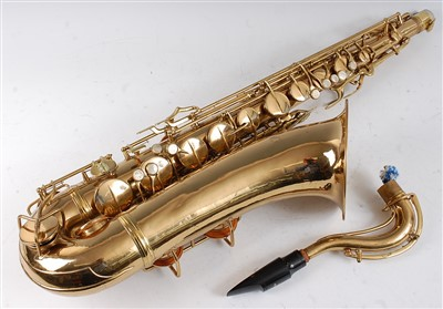 Lot 601-A Conn New Wonder Series II saxophone