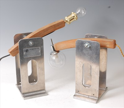 Lot 16-A pair of contemporary American PF Industries...