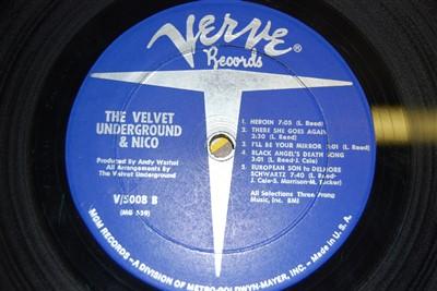 Lot 729 - The Velvet Underground & Nico, Self Tilted