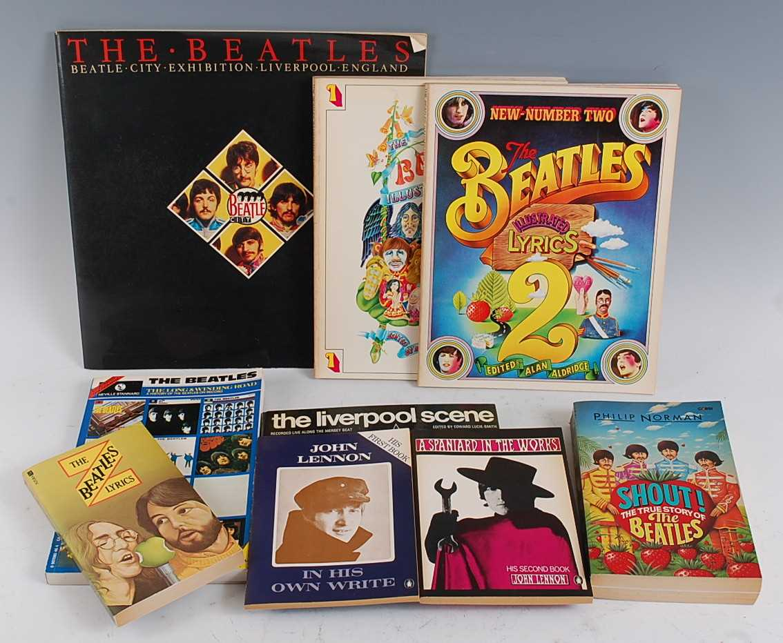 Lot 619-A collection of Beatles memorabilia to include
