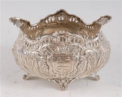 Lot 1088 - An Edwardian Scottish silver sugar bowl, of...