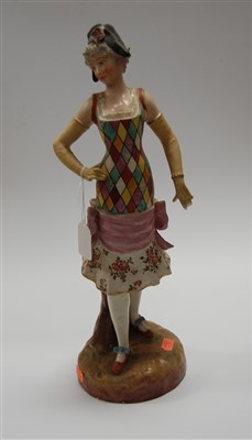 Lot 6-A large late 19th century continental figure of a ...