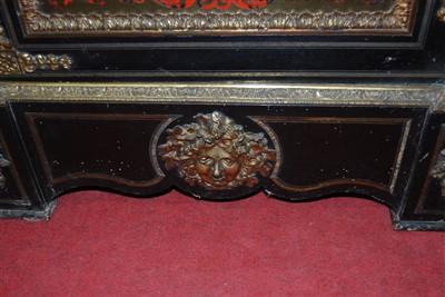 Lot 1492 - A pair of 19th century ebony and tortoiseshell...