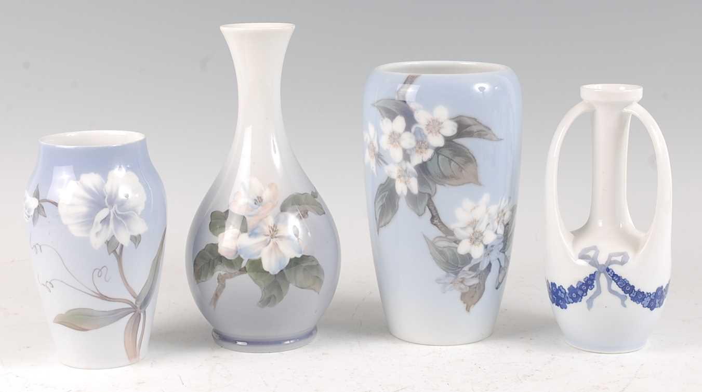 Lot 5-A Royal Copenhagen collection of four various...