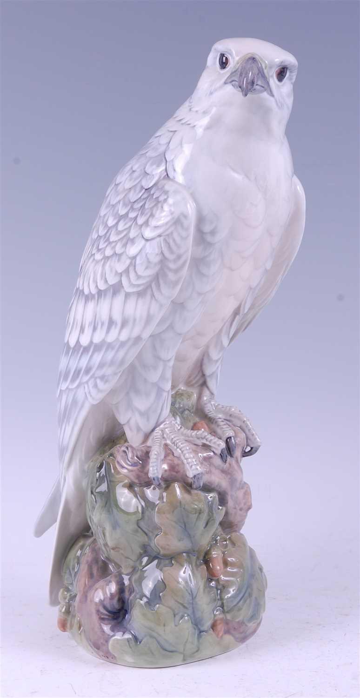 Lot 6-A Royal Copenhagen large porcelain model of an...