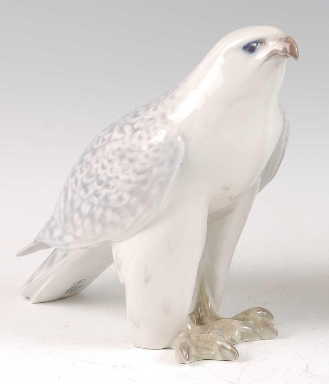 Lot 7-A Royal Copenhagen porcelain model of an...