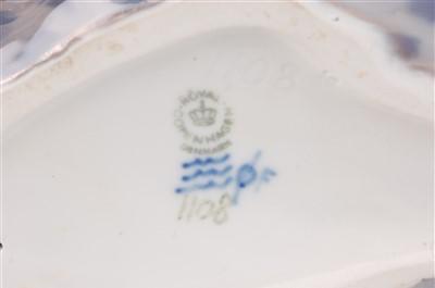 Lot 9-A Royal Copenhagen large porcelain model of a...