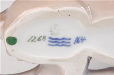 Lot 18-A Royal Copenhagen large porcelain model of a...