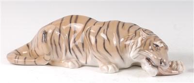 Lot 20-A Royal Copenhagen large porcelain model of a...